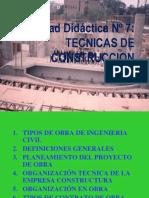 1.Consideraciones Generales Para La Ejecución de Una Obra