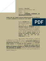 CASAPRO- GAMARRA- NULIDAD