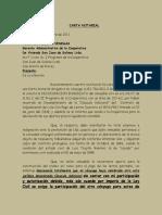 Carta Notarial- La Torre