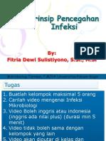 (1) Prinsip Pencegahan Infeksi