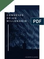 19 Consejos de Un Millonario
