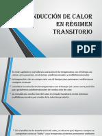 Conducción de Calor en Régimen Transitorio