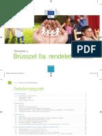 Útmutató a Brüsszel II A rendelet alkalmazásához