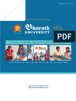 Bharath University Brochure