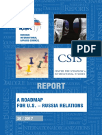 A Roadmap for U.S. – Russia Relations