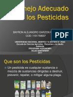 2. Manejo Adecuado de Pesticidas