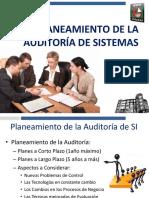 Planeamiento de La Auditoría de SI