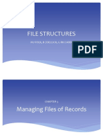 Chapter 5 Managing Files of Records