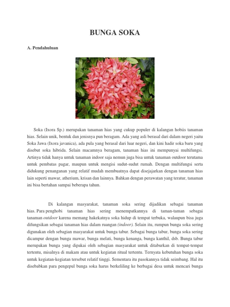 Bunga Soka