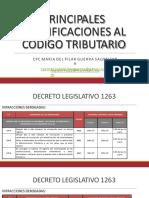17.01.10 Reforma Tributaria 2017 Modificaciones Al Codigo Tributario
