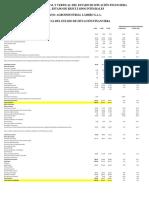 Análisis Horizontal y Vertical Del Estado de Situación Financiera y El Estado de Resultados Integrales