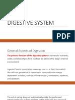 g. Digestive System