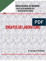 Ensayos de Laboratorio.pdf - Dr. Ing. Jorge Elias Alva Hurtado