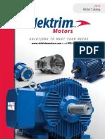 CATALOG Elektrim-Motors v2014