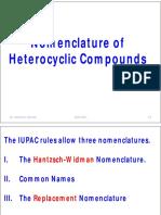 Dr:nedjmet elauress-Nomenclature of Heterocyclic Compounds 0