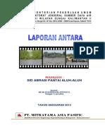 Cover Laporan Antara