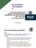 C 11 Economie Sanitara