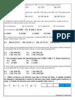 Revisando Saresp Matematica