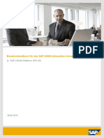 SAP HANA Information Composer End User Guide De