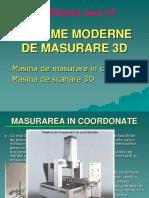 Sisteme Moderne de Masurare 3d