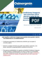 Condiciones Inseguras Criticidad Alta Gasocentros GLP or Huanuco 18-07-17 Final