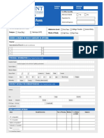 CPU Application Form