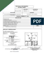 Protocolo de Pozo a Tierra (Ascensor Duplex)