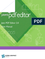 Jaws PDF Editor User Guide