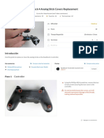 DualShock 4 Analog Stick Covers Replacement