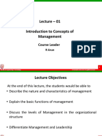 introduction to industrial management