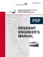 Resident Engineer's Manual by Caltrain
