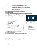 Tpm Pillar Assignments