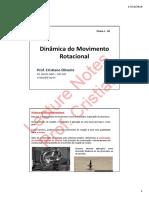 Dinamica Rotacao Corpos 2x1