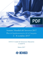 Campaign Implementation Plan WIW 2017 Spanish