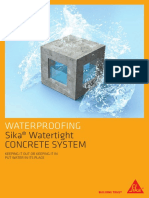 Bro Sika Watertight Concrete System Brocure 2016-10-05