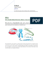 DNA & Its Double Helical Model