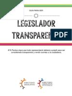 Guía Legislador Transparente