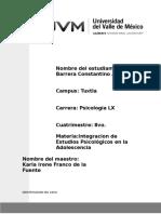 Proyecto Integracion de Estudios Psicologicos en La Adolescencia - Copia