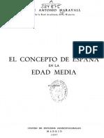 El Concepto de España en La Edad Media