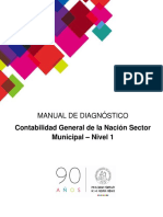 Manual Diagnóstico Curso Municipal - Nivel 1- 2017