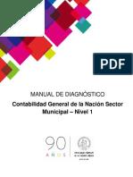 Manual Diagnóstico Curso Municipal - Nivel 1- 2017