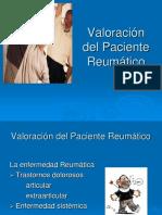 Valoración del Paciente Reumático.ppt