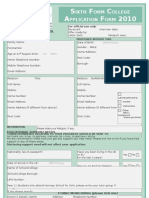 HSG Application Form