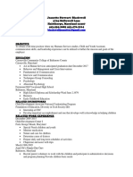 resume for csit class new one