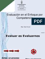 Presentación de Evaluación Con El Enfoque Por Competencia 22 06 13