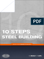 Steps to a Steel Building