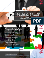 Perfil de Puesto Jefe de Marketing