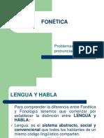 Clase 2. Fonetica