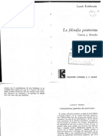 6 U3 Kolakowski Cap I y VII La Filosof a Positivista