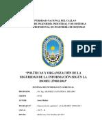 Políticas de Seguridad de La Información ISO 27002